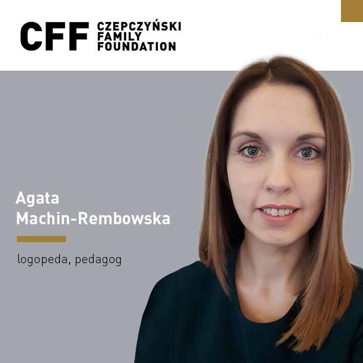 Agata Machin-Rembowska | Supermoce logopedy